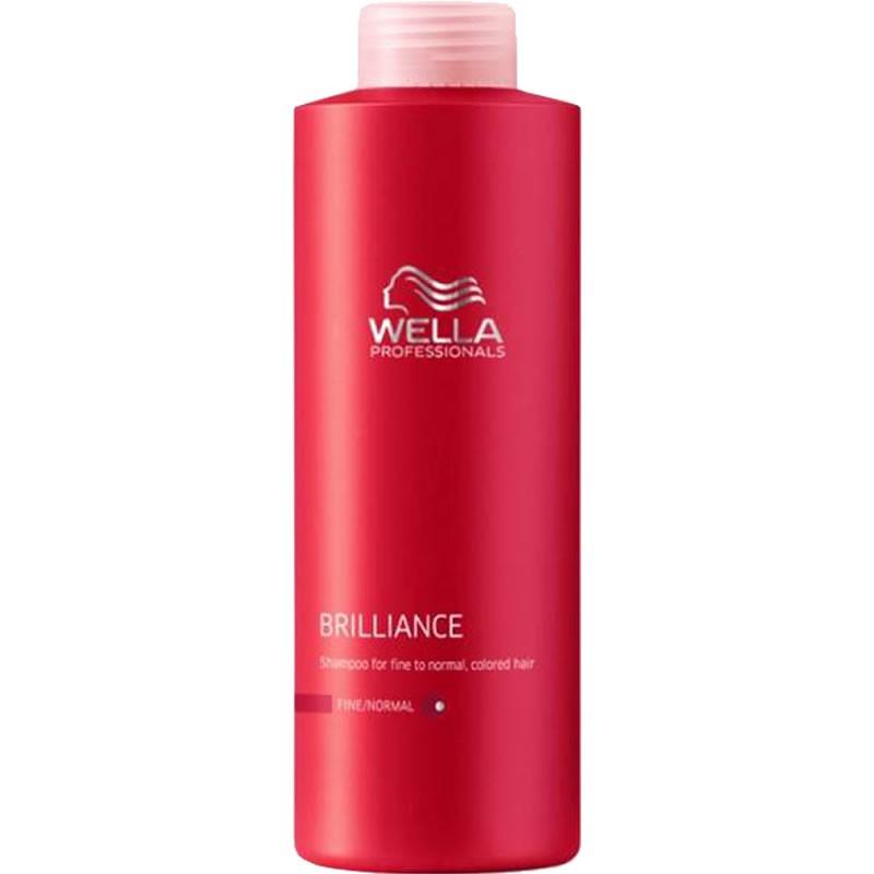 Τα προϊόντα της σειράς Wella Professionals Brilliance δημιουργούν μία νέα διάσταση λάμψης και προστασίας χρώματος των βαμμένων μαλλιών και αποτελούν τον ιδανικό συνδυασμό για χρήση με τις βαφές Koleston Perfect και Color Touch.