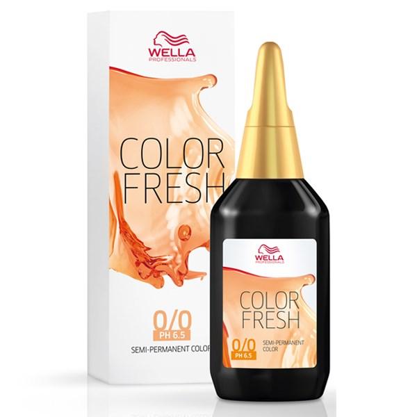 color fresh χωρίς αμμωνία, ιδανικό για φρεσκάρισμα του χρώματος ανάμεσα στις βαφές, 75ml. Απόχρωση 6/0 ξανθό σκούρο.
