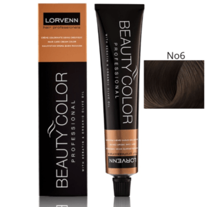 Lorvenn Beauty Color No 6 ξανθό σκούρο 70ml.